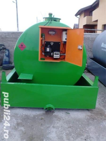 statie, rezervor, bazin motorina 9000 litri