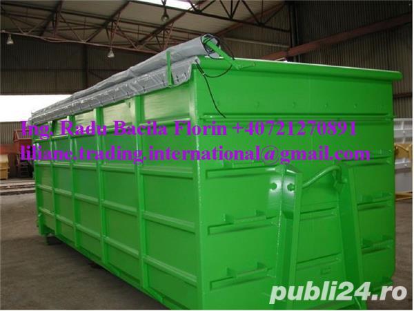 Container Abroll cu volum de 23 mc