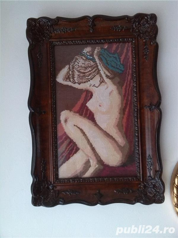 tablou goblen Nudul 36/21 cm