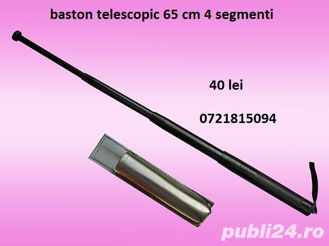 baston telescopic 4 segmenti  65 cm
