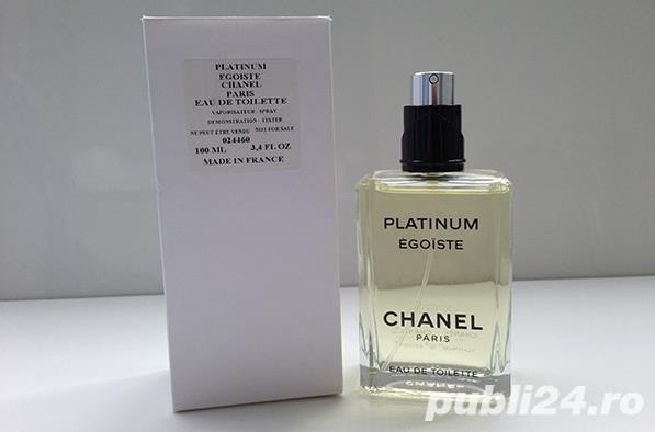 Parfum tester Chanel - Platinum Egoiste, men, EDT, nou