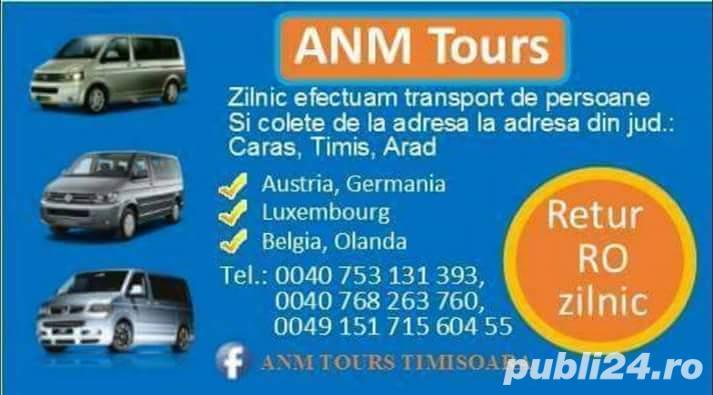 2 SOFERI !!  Zilnic !!! Plecari spre Austria, Germania, Luxembourg, Belgia, Olanda  si Retur RO.