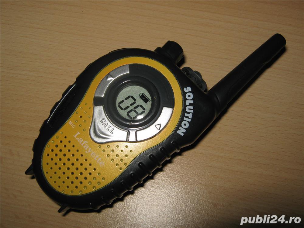 Statie radio portabila noua PMR 446 Lafayette Solution