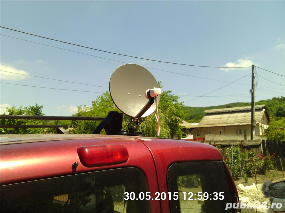 Focus SAT Camion,Rulota+televizor LED+receptor12 v+focus+5 LUNI+aparat reglat