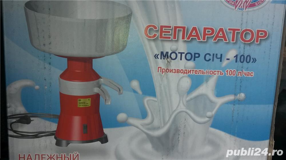 Separator smantana si lapte(centrifuga) si piese LIVRARE