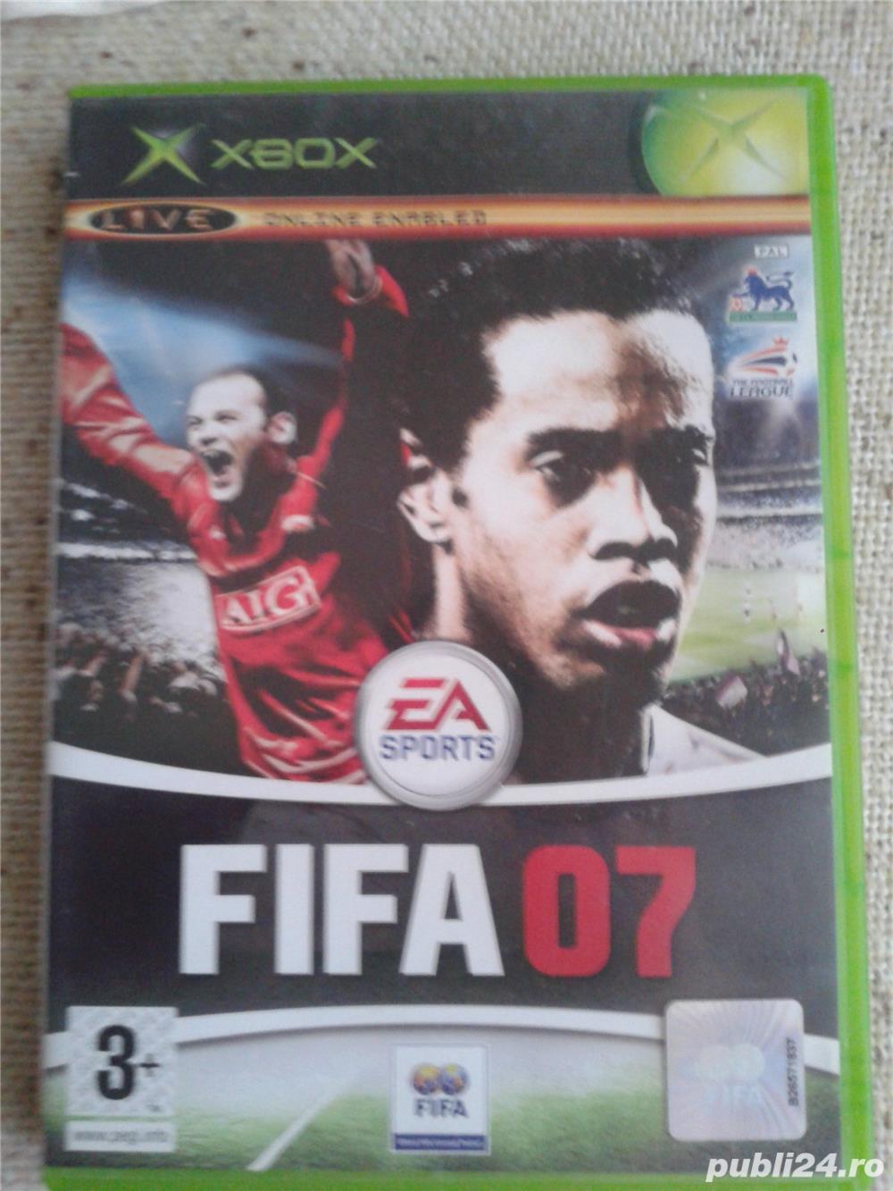 jocuri xbox 1 clasic,ca noi,  FIFA 2007