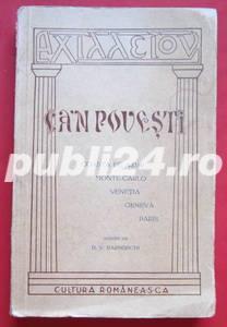 Ca-n povesti, D. V. Barnoschi, 1917