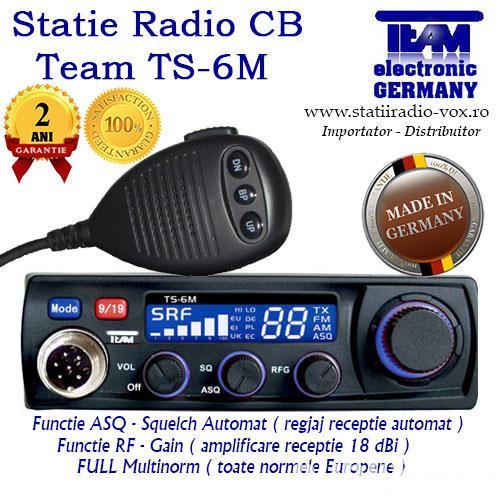 Statie Auto Radio CB Team TS-6M