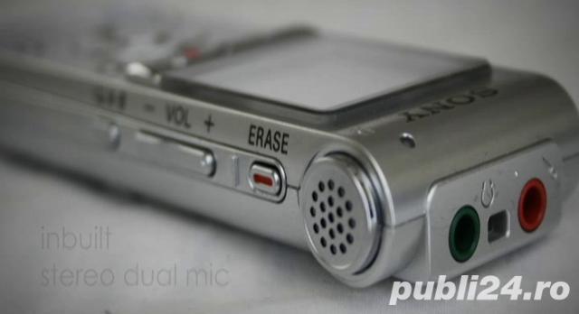 Ocazie 2GB reportofon stereo SONY ICD-UX200 impecabil ca nou