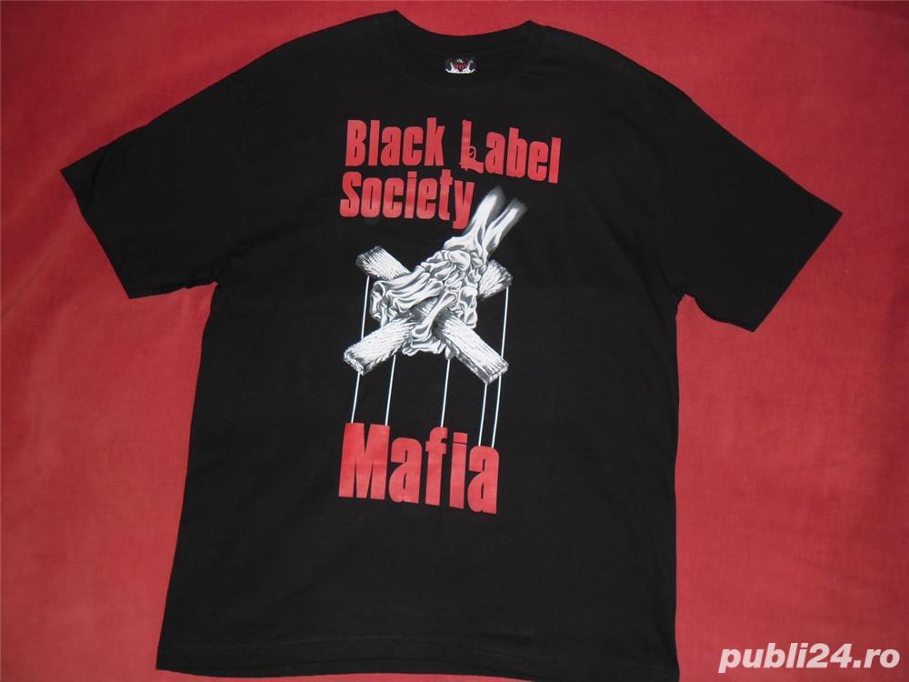 Tricou Hot Rock Mafia XL , unisex, nou noutz
