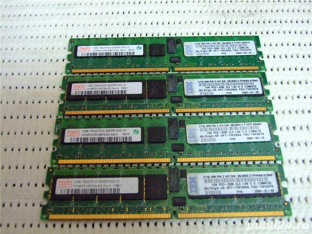 Memorie server workstation 1GB Hynix ECC PC2-3200R 400MHz DDR2 Registered