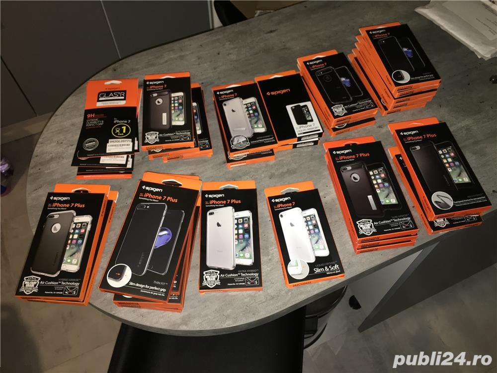 Husa iPhone 7 si 7 Plus Spigen