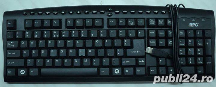 Tastatura Multimedia PC RPC Model: KMV-21BU USB