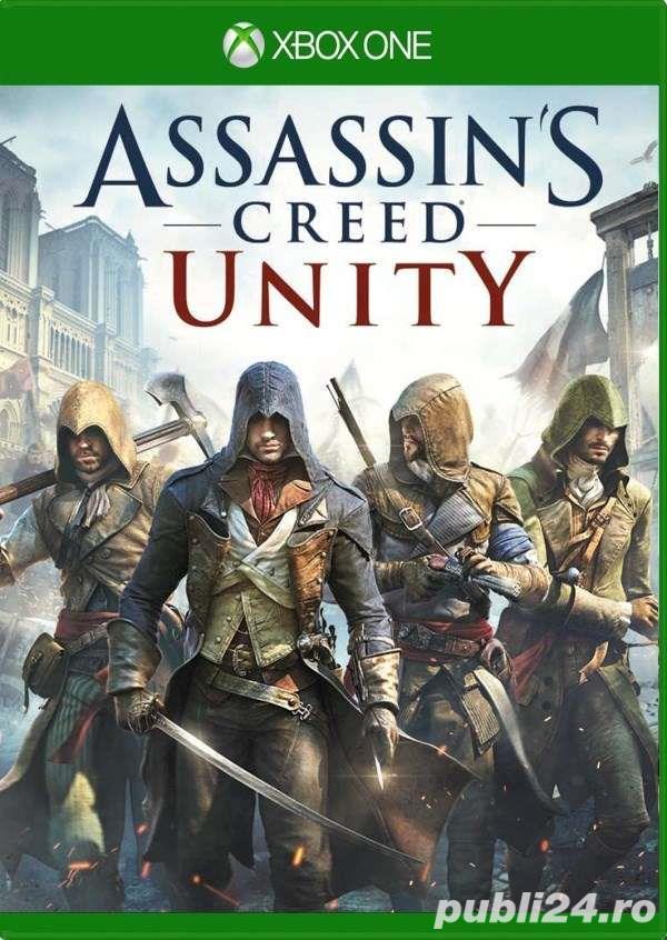 Joc Xbox One Assassin's Creed Unity cod digital