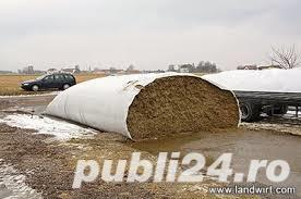 Folie silozuri 180 micr. orice lungime la 3,3 lei/m liniar