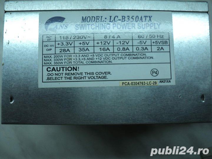 Sursa PC Model: LC-B350ATX 350W 350W