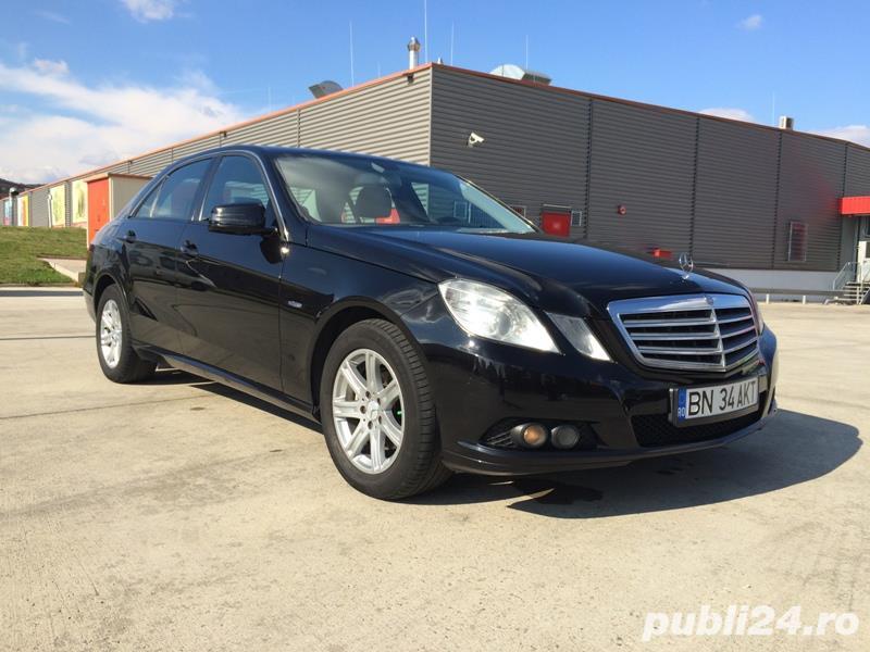 de inchiriat / Inchirem Mercedes E 200 CDI model 2010