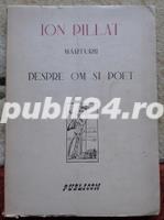 Marturii despre om si poet, Ion Pillat, 1946