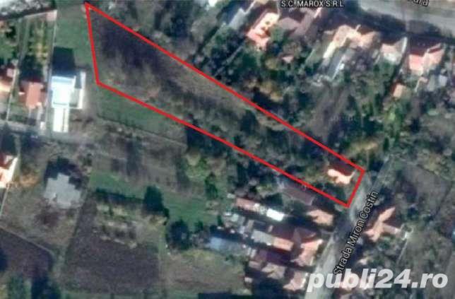 INVESTITORI vind Satu Mare teren 50 ari parcelabil pt. constructi  zona Titulescu