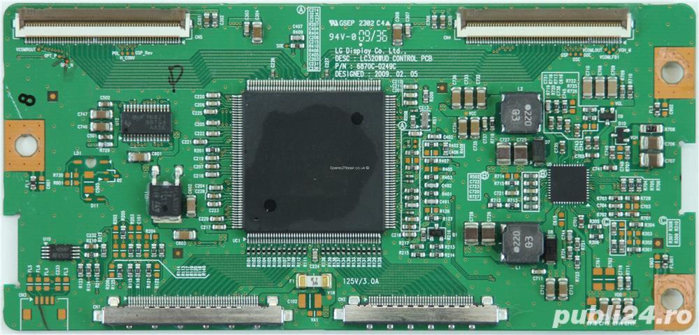 6870C-0249C, 6871L-1813A, Tcon LC320WUD CONTROL PCB