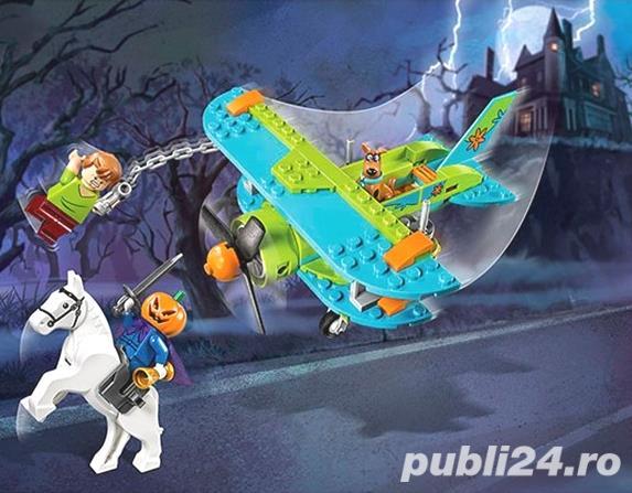 Set tip Lego Scooby-Doo si Avionul Misterelor