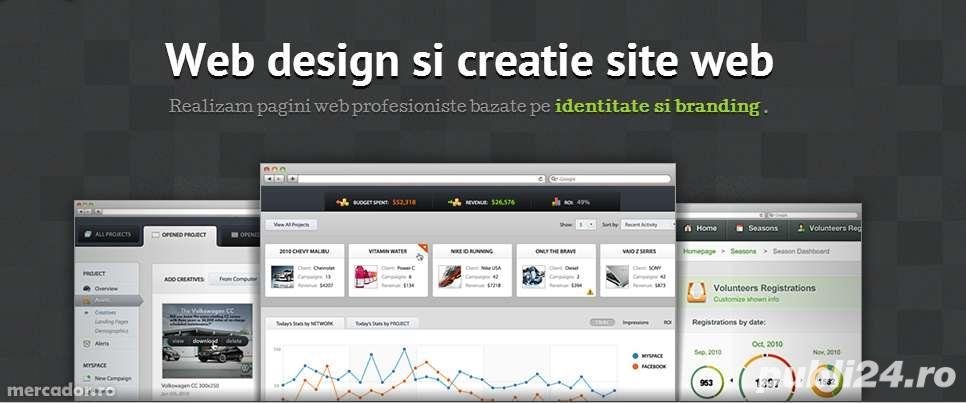Realizez Pagini Web pentru firme, preturi corecte si negociabile