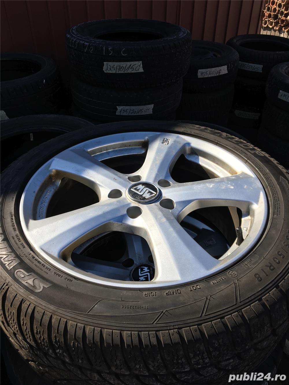Jante aluminiu audi,BMW,Mercedes 235/50/18ms