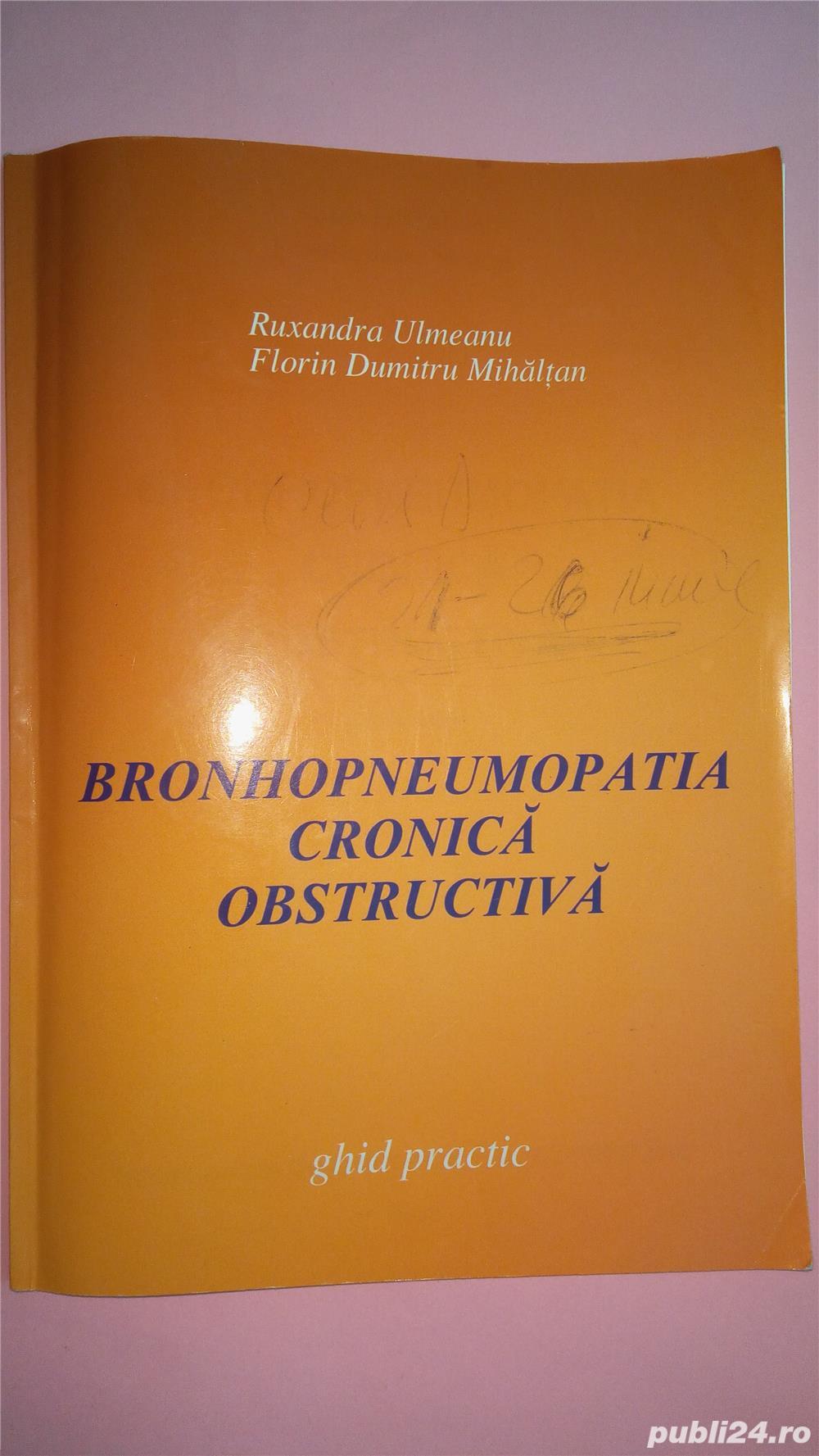 Bronhopneumopatia cronica obstructiva ghid practic , Ulmeanu , 2003