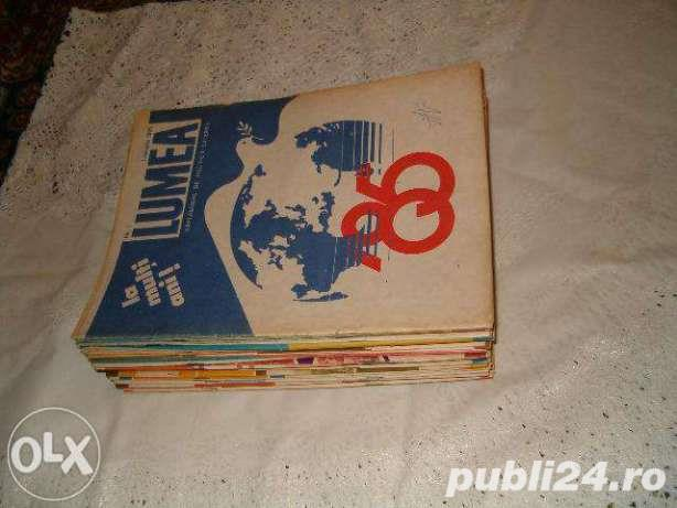 Colectia revistei  LUMEA - 1985