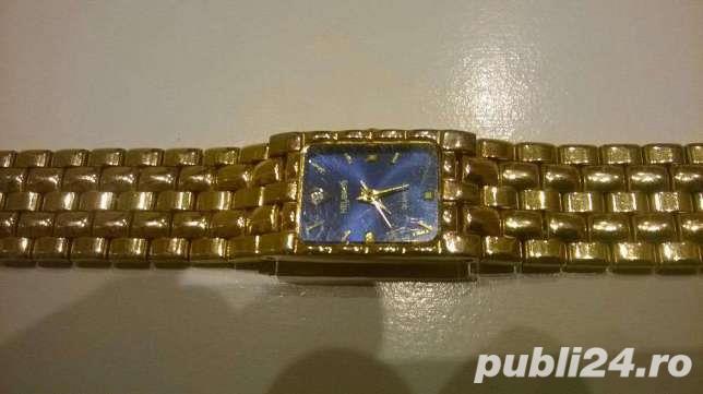 Ceas de dama elegant placat cu aur