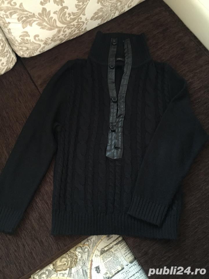 Pulover gros negru