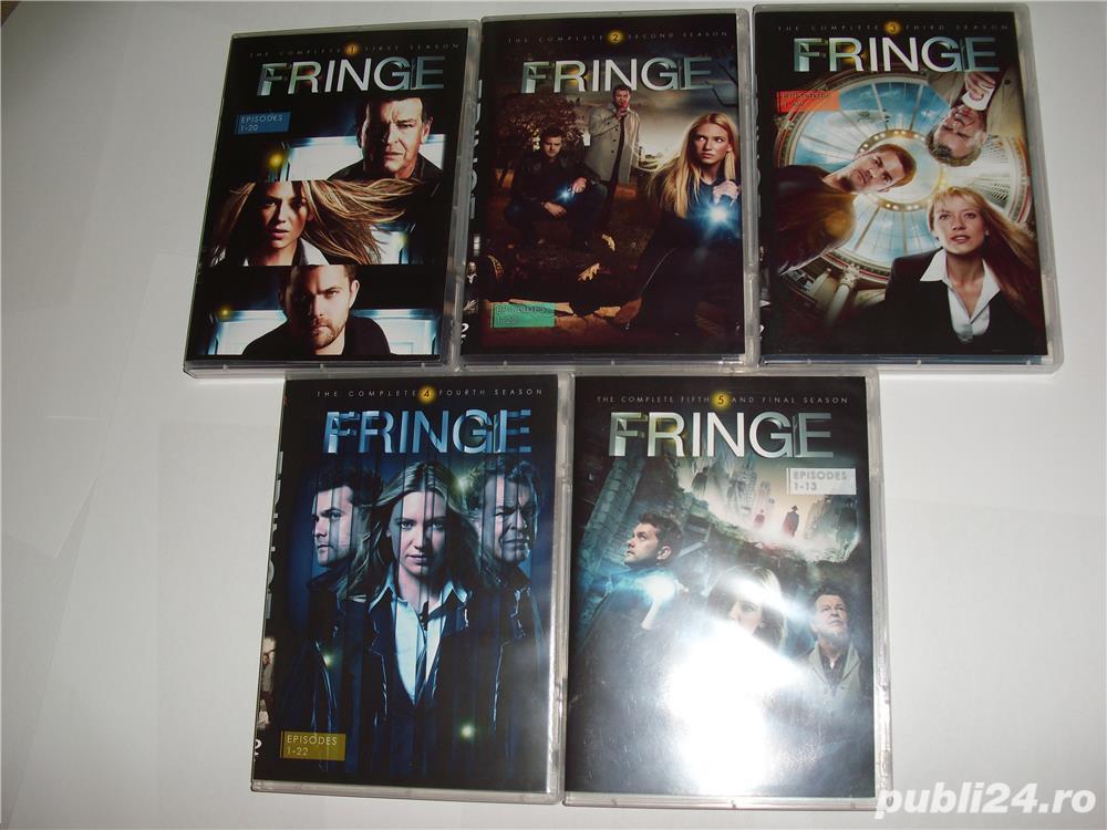 Fringe 2008 2013  5 sezoane DVD