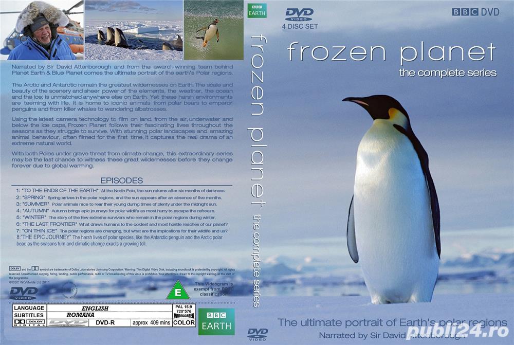 B.B.C. Frozen Planet 2011 Planeta Inchetata