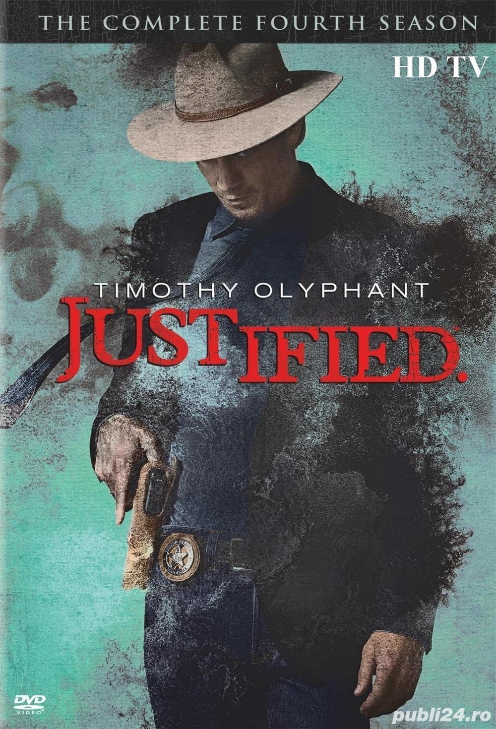 Justified /Lege si dreptate  2010 4 sezoane DVD