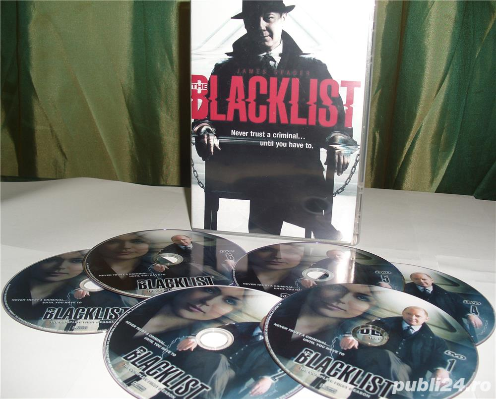 The Blacklist 2013  3 sezone  DVD