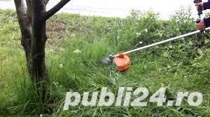 Tundem gazon,iarba cu MOTOCOASA,curatam pomi, cu scule PROFESIONALE.