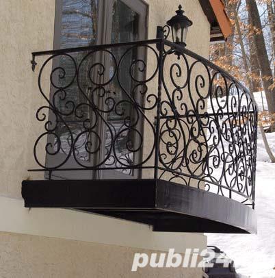 balustrade, porti, garduri fier forjat