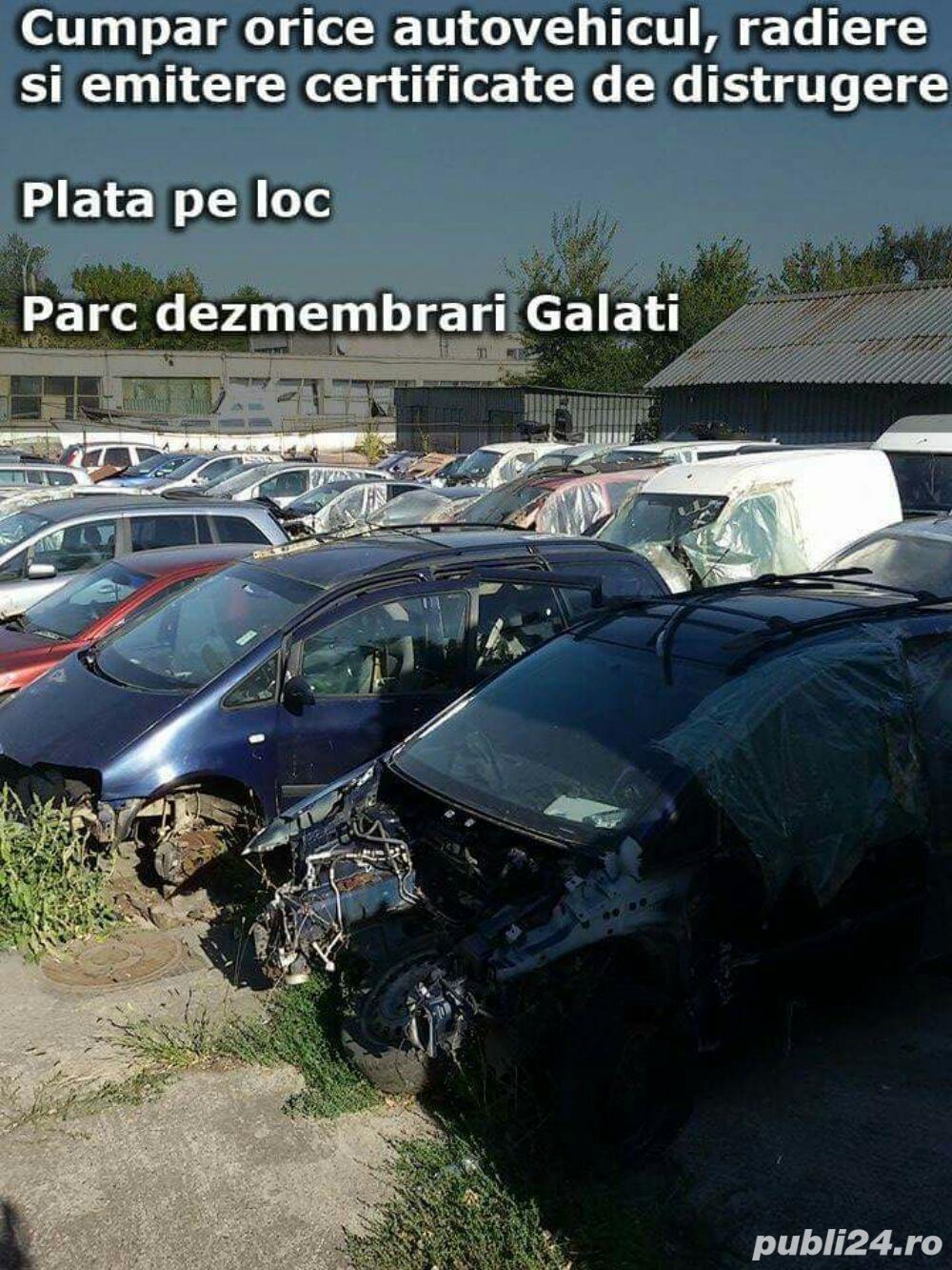 Parc dezmembrari auto galati autorizat
