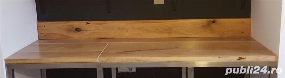 Blaturi si polite din lemn masiv de stejar