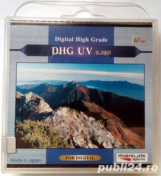 Filtru foto Marumi 67mm DHG-UV(L390)