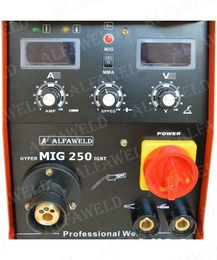 Aparat de sudura cu sarma MIG MAG, HyperMig 250A