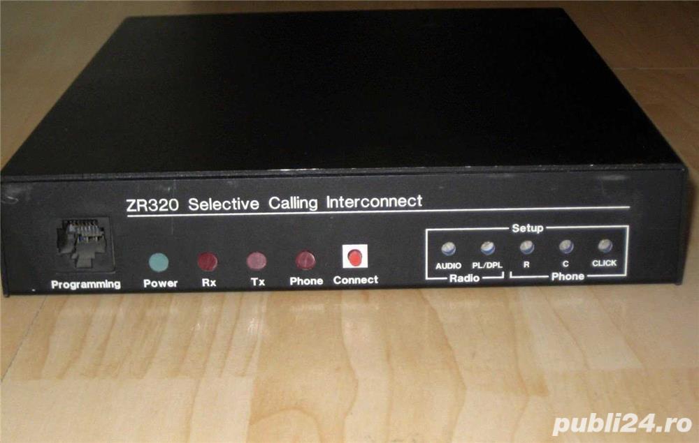 Zetron ZR320 Selective Calling Interconnect Controller
