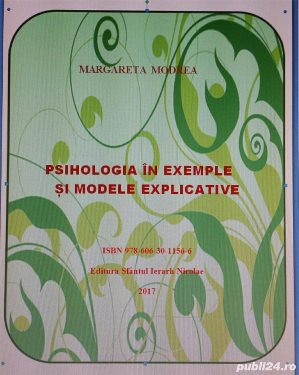 """Psihologia in exemple si modele explicative"" e-Book de Margareta Modrea"