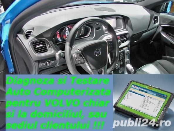 Diagnoza Volvo & Saab testare cu tester profesional + service reparatii electrica auto la domiciliu