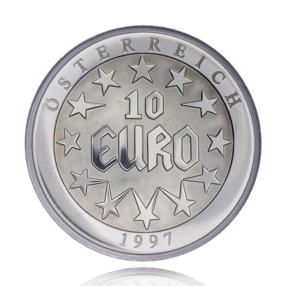 Medalie-moneda din aliaj 10 Euro, Europa 1997 gr.26,7