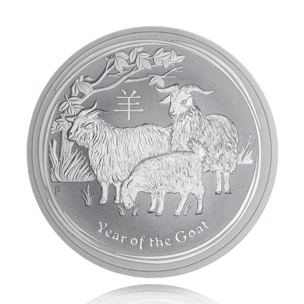 Moneda de Argint Lunar II Series Goat 2015 1oz