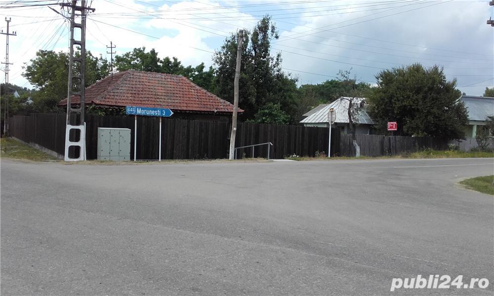 Vand sau inchiriez casa cu anexa in Com.Morunglav