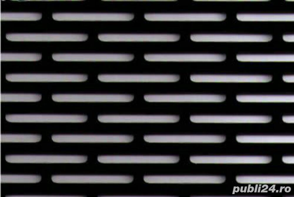 Tabla otel perforata 1.5x1000x2000mm perforatii alungite