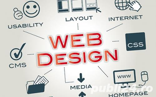 Realizare site web,magazin online, creare blog,SEO