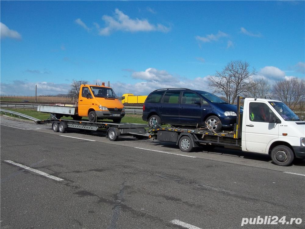 tractari  auto   - transport   auto , autoutilitare -,utilaje mici,  agricole